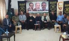 القيادة السياسية الفلسطينية الموحدة في صيدا تؤكد على امن واستقرار المخيم