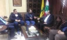 حزب الله في صيدا إستقبل وفدا قياديا من حماس