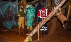 إرتفاع عدد قتلى فيضان سد في كينيا إلى 47 شخصا