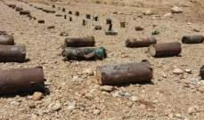 """سانا: ضبط كميات كبيرة من مادة الـ""""سي فور"""" والعبوات الناسفة في بيت جن بريف دمشق"""