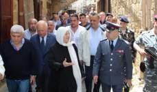 الحريري تفقدت التحضيرات لاستقبال شهر رمضان في صيدا القديمة