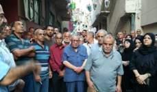 اعتصام في مخيم عين الحلوة احتجاجا على اغتيال هيثم السعدي