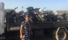 قوى الأمن: مفرزة سير أميون احتجزت 11 دراجة آلية مخالفة