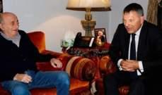 جنبلاط عرض مع لازاريني للتطورات الراهنة في لبنان والمنطقة