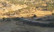 سماع اصوات انفجارات في قرى حاصبيا ناتجة عن مناورات اسرائيلية
