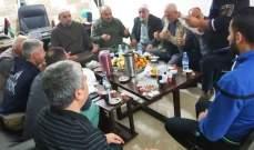 توحيد لجنتي الطيري في مخيم عين الحلوة برعاية الامن الوطني الفلسطيني