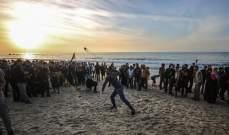 إصابة 3 فلسطينيين برصاص البحرية الإسرائيلية قبالة شواطئ غزة