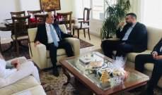 أحمد الحريري زار السفير التركي: أي تصرف يسيء لتركيا غير مقبول