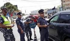 النشرة: مفرزة سير النبطية اقامت حواجز توعية حول السلامة المرورية