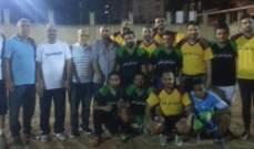 بلدية طرابلس أطلقت دورة رمضان المبارك بكرة القدم
