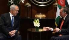 مكتب رئيس الوزراء الإسرائيلي:نتانياهو اجتمع اليوم مع ملك الأردن في عمان