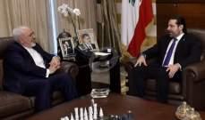 الاخبار: ظريف يعرض التبادل التجاري مع لبنان بالليرة تجنبا للعقوبات