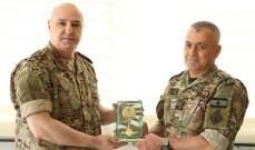 قائد الجيش يترأس حفل تكريم اللواء الركن جورج شريم لمناسبة إحالته على التقاعد