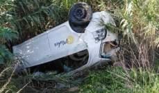 النشرة: جرح شخص بعد انقلاب سيارته في أبو الأسود