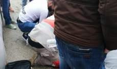 النشرة: جريح بحادث اصطدام دراجة نارية بسيارة على اوتوستراد زفتا