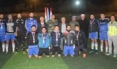 الكتيبة الهندية باليونيفيل احتلت المرتبة الأولى بمباراة دورة العرقوب لكرة القدم