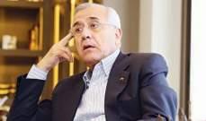 """سليمان: الرئيس عون مطالب باستراتيجية تضع سلاح """"حزب الله"""" بإمرة الجيش"""