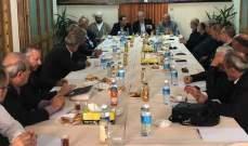 لقاء الأحزاب الوطنية: الحريري مسؤول عن تأخير التأليف لرفضه تمثيل النواب السنة الوطنيين