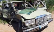 النشرة: 3 جرحى في حادث سير مروع على طريق الحسبة في صيدا
