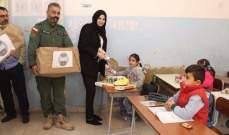 بلدية شبعا وزعت الحلوى على الاطفال بمناسبة الذكرى المولد النبوي
