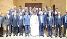 بخاري رعى احتفالا تكريميا أقامته الملحقية العسكرية لضباط لبنانيين أتموا دورات تدريبية بالسعودية
