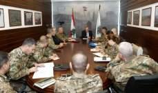 الصراف إستقبل لجنة دراسة المستشفى العسكري المركزي الجديد