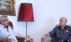 سعد التقى العميد شمس الدين وبحث معه الاوضاع العامة