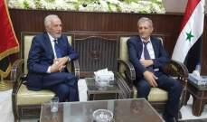 زعيتر من سوريا: لتمتين العلاقات بين كل الدول العربية