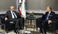 بلحاج بعد لقائه وزير المال: الوضع الاقتصادي في لبنان دقيق