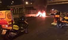 مقتل شخص وإصابة آخر في انفجار سيارة في تل أبيب