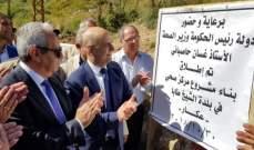 حاصباني: هدفنا السعي الدائم لتقديم الدعم الكامل لمحافظة عكار