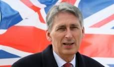 وزير المال البريطاني: من غير المؤكد تنظيم تصويت ثالث على بريكست