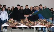 المطران ضاهر خلال احتفال ميلادي في طرابلس: للتكاتف ونبذ الفتنة وزرع بذور المحبة