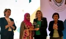 كلودين عون روكز رئيسة للمجلس الاعلى لمنظمة المرأة العربية لسنتين