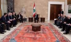 الرئيس عون عرض مع وزير خارجية البوسنة والهرسك سبل تعزيز العلاقات