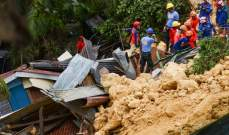 إرتفاع عدد ضحايا انزلاق التربة في الفيليبين إلى 22 قتيلا