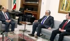 الرئيس عون بحث مع وفد من حزب