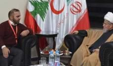العلامة النابلسي زار مستشفى الشيخ راغب حرب والتقى مديرها العام