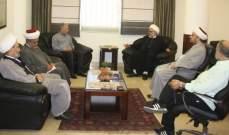 وفد من تجمع العلماء المسلمين بحث مع رئيس بلدية حارة حريك في الشؤون العامة