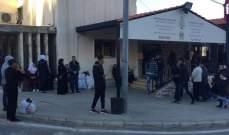 النشرة: العائلات السورية النازحة بدأت بالتجمع عند نقطة المصنع للعودة الطوعية