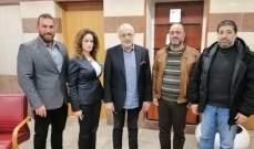 شهيب اطلع على مطالب الاساتذة المستعان بهم ومتعاقدي المواد الإجرائية في الثانويات