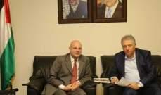 دبور التقى المدير العام لوكالة الاونروا في لبنان