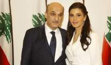 سمير جعجع وستريدا جعجع عادا الى بيروت بعد زيارة خاصة خارج البلاد