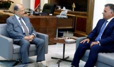 الرئيس عون هنأ ابراهيم بعيد مؤسسة الأمن العام ونوه بجهودها وتضحيات عسكرييها
