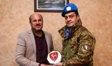 آبانيارا التقى رئيس بلدية طير دبا بهدف تمتين العلاقة بين اليونفيل والسكان