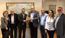 رئيس بلدية الشويفات زار الوزير داود وعرض معه فعاليات إطلاق الشويفات مدينة ثقافية للعام 2019