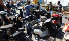 النشرة: اعتصام لأصحاب الدراجات الكهربائية في صيدا