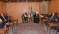 قبلان التقى ايوب: لتوفير كل مقومات الدعم للجامعة اللبنانية