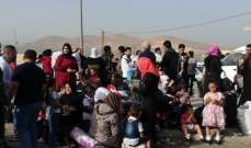 النشرة: الأمن العام يدقق بأوراق النازحين السوريين قبل عودتهم الى قراهم
