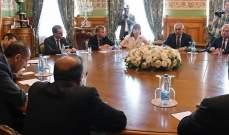 فيرشينين يبحث تشكيل اللجنة الدستورية السورية مع مسؤول إيراني